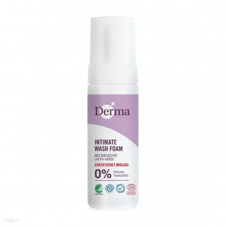 Derma Eco Woman intimate wash foam biologisch